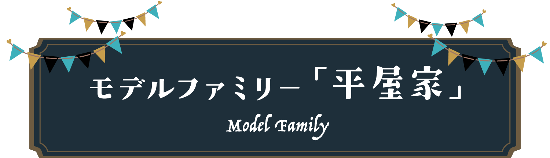 モデルファミリー「平屋家」